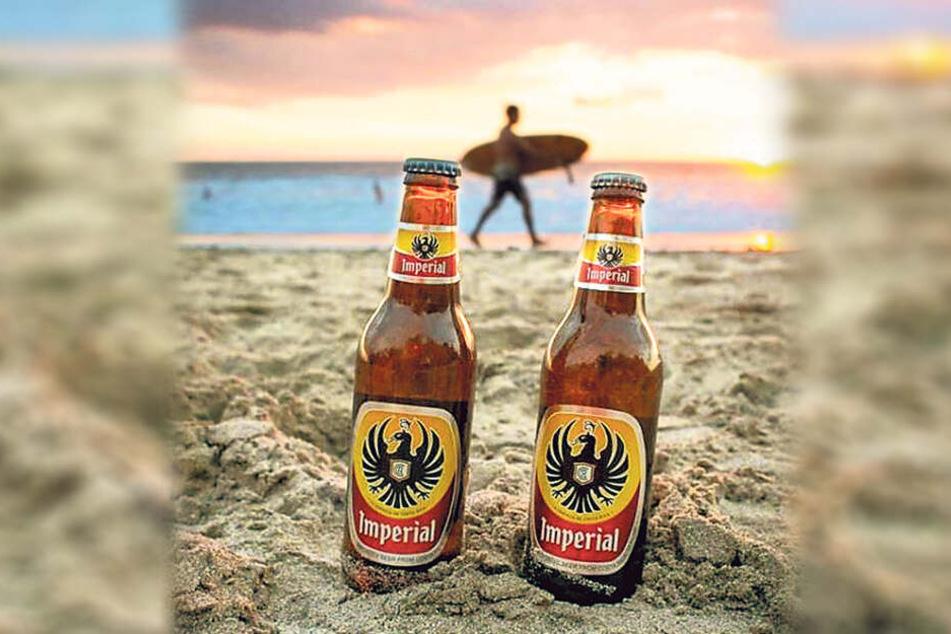 """Ob in der Karibik oder am Pazifik - in Costa Rica ist """"Imperial"""" die Marke Nummer eins."""