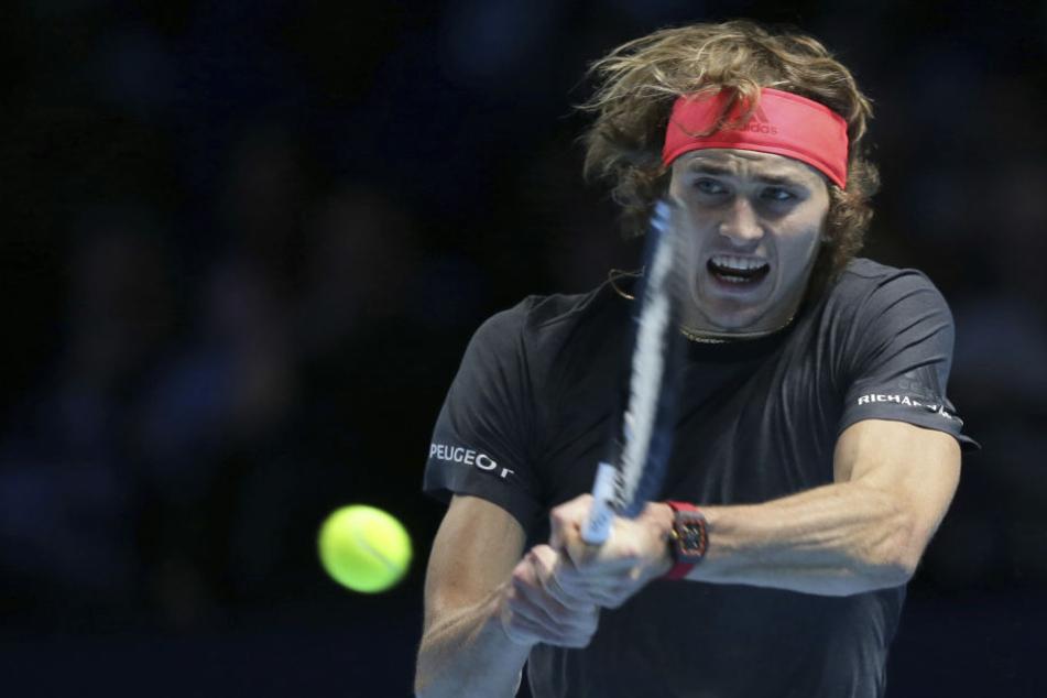 Alexander Zverev (21) gewann am Sonntag das Endspiel der ATP Finals in London gegen den serbischen Weltranglisten-Ersten Novak Djokovic.