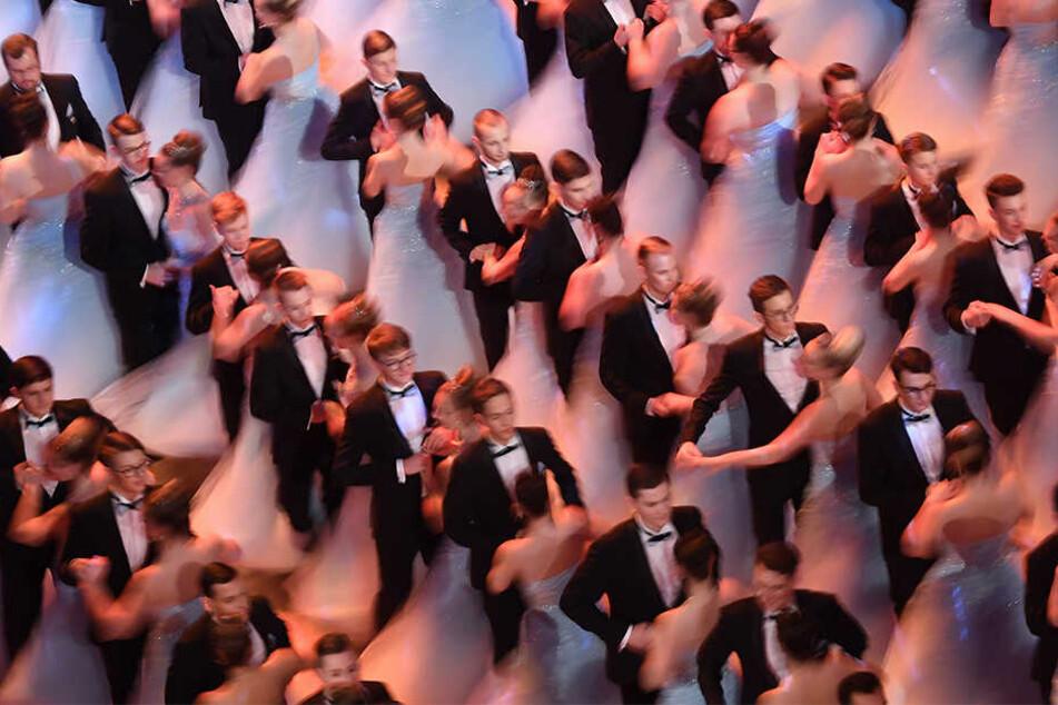 """Das Motto des diesjährigen Balls lautete """"Faszination Dresden - Träume werden wahr""""."""