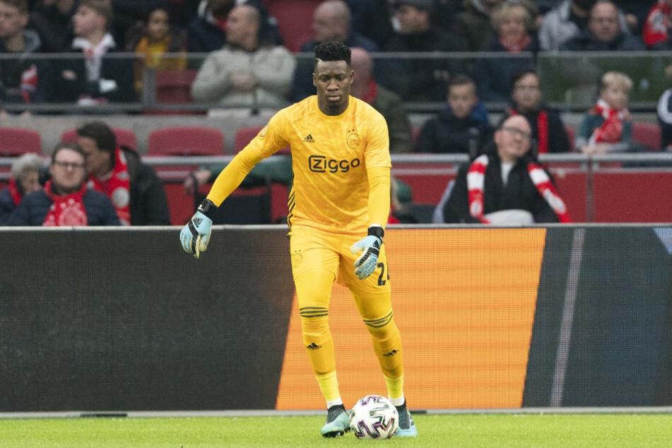 Andre Onana ist seit einigen Jahren der sichere Rückhalt von Ajax Amsterdam.
