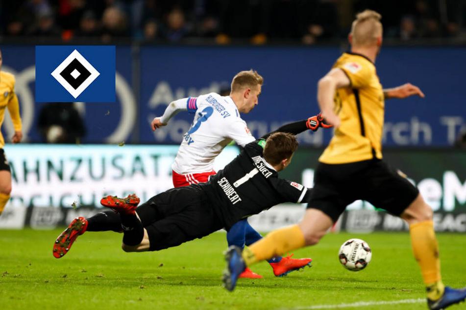 Der Hamburger SV hat nach dem Arbeitssieg über Dresden einiges zu besprechen