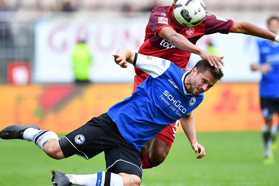 Julian Börner will sich auch gegen Würzburg voll reinwerfen.