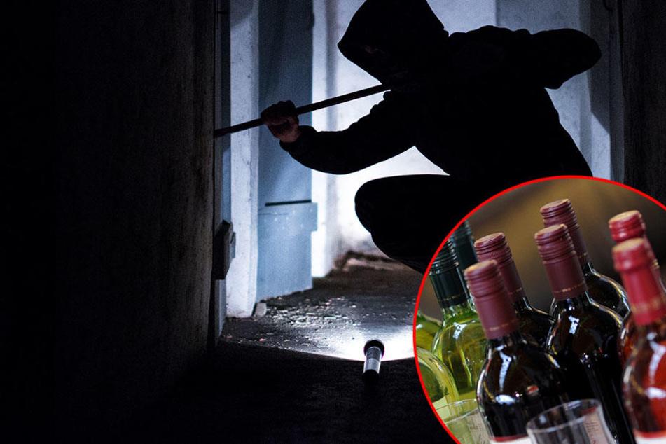 Die Einbrecher ließen einzig und allein zwei teure Weinfalschen mitgehen. (Symbolbild)