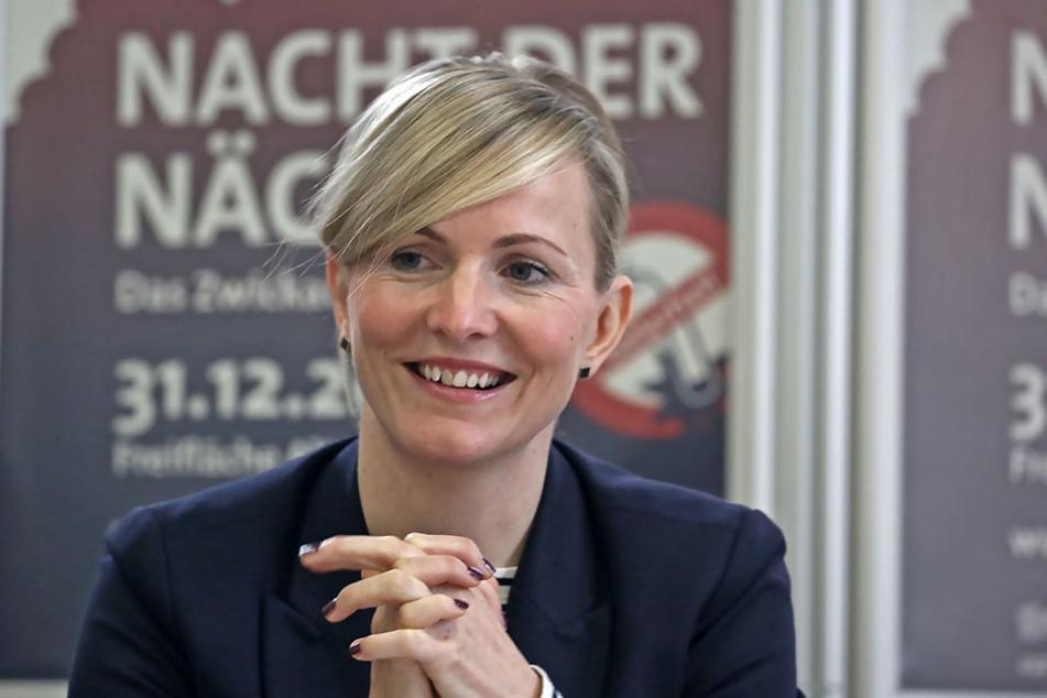 """Monique Riemenschneider (39) von """"Kultour Z"""" verteidigt das Verbot."""