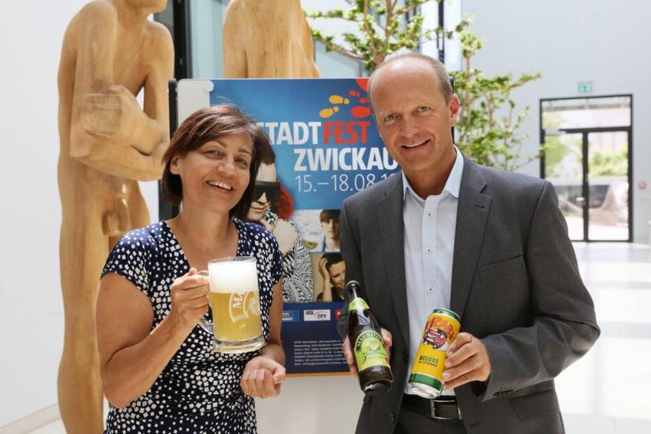 Wie in den vergangenen Jahr wird auch beim 18. Zwickauer Stadtfest mit rund 150.000 Besuchern gerechnet.