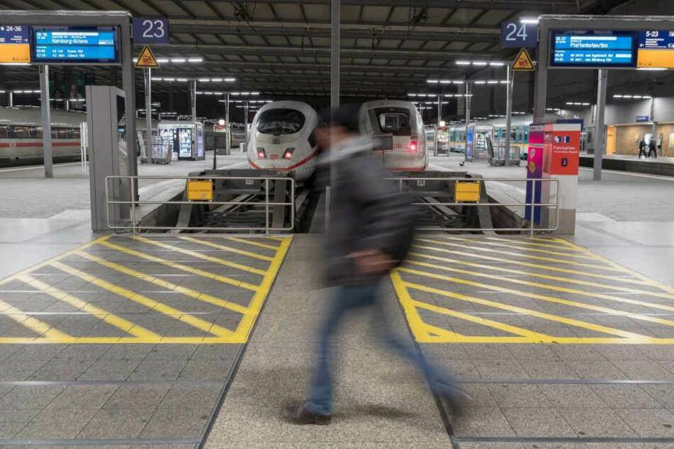 Restaurants, Die Bahnhofshalle und die Züge sind vom verbot ausgenommen. (Archivbild)