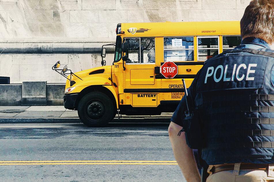 Polizisten werden zu Schlägerei in Schulbus gerufen, danach müssen sie selbst ins Krankenhaus