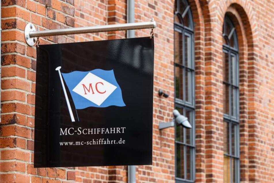 """Das Frachtschiff """"MarMalaita"""" gehört zur Hamburger Reederei MC-Schiffahrt."""