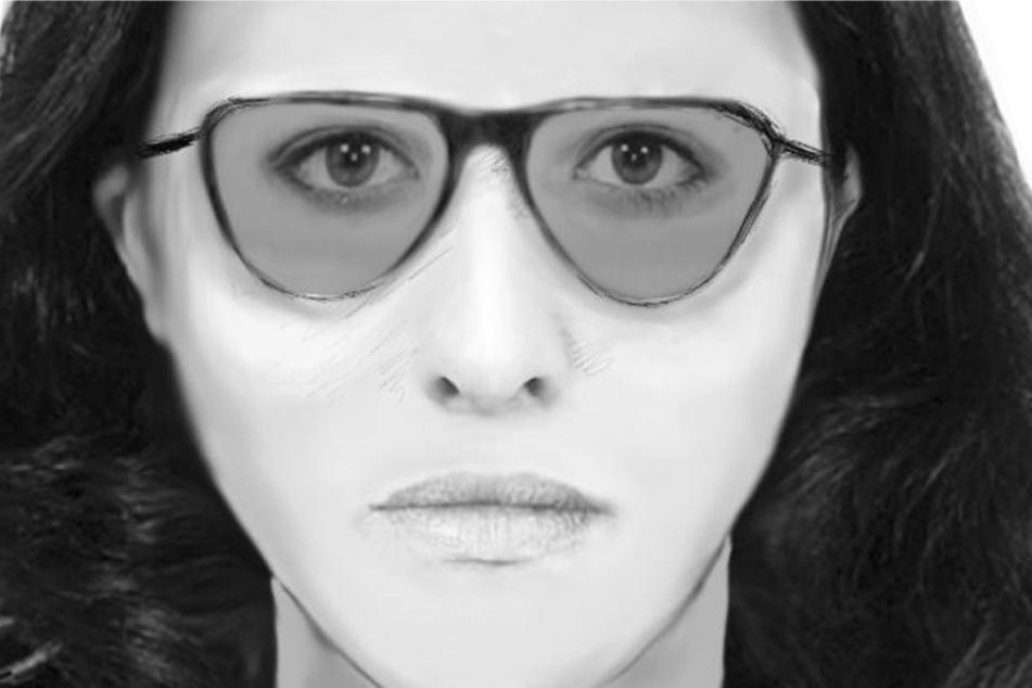 Wer kennt diese Frau? Das Phantombild zeigt die gesuchte Betrügerin.
