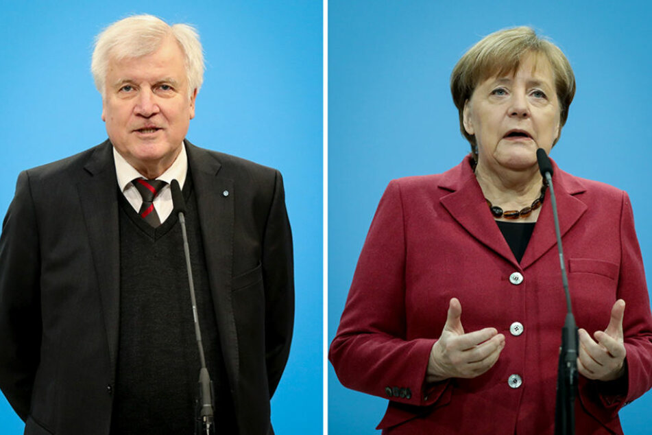 Horst Seehofer (CSU) und Angela Merkel (CDU).