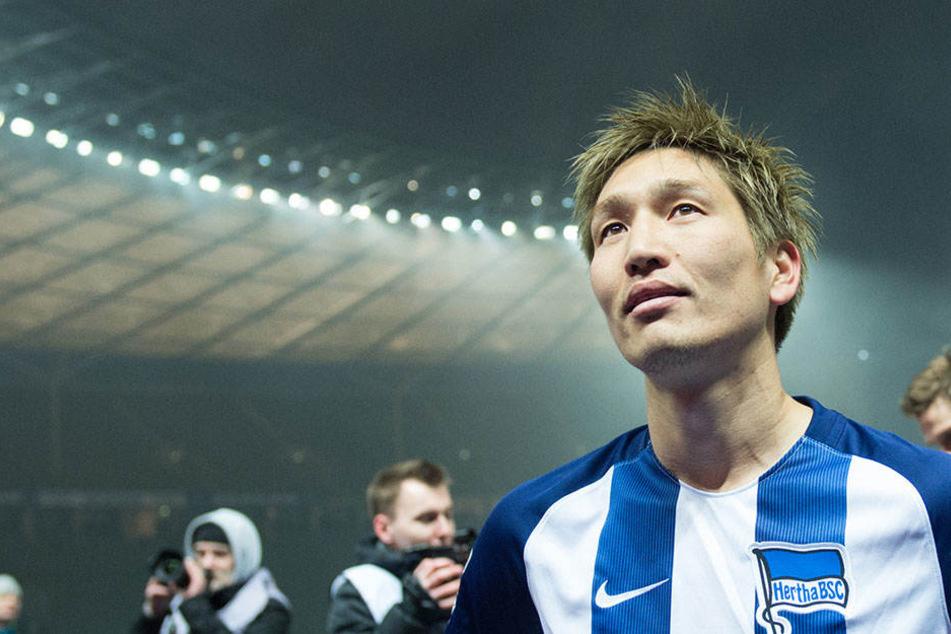 Genki Haraguchi hat seinen Vertrag verlängert, wird die Rückrunde aber bei Fortuna Düsseldorf spielen.