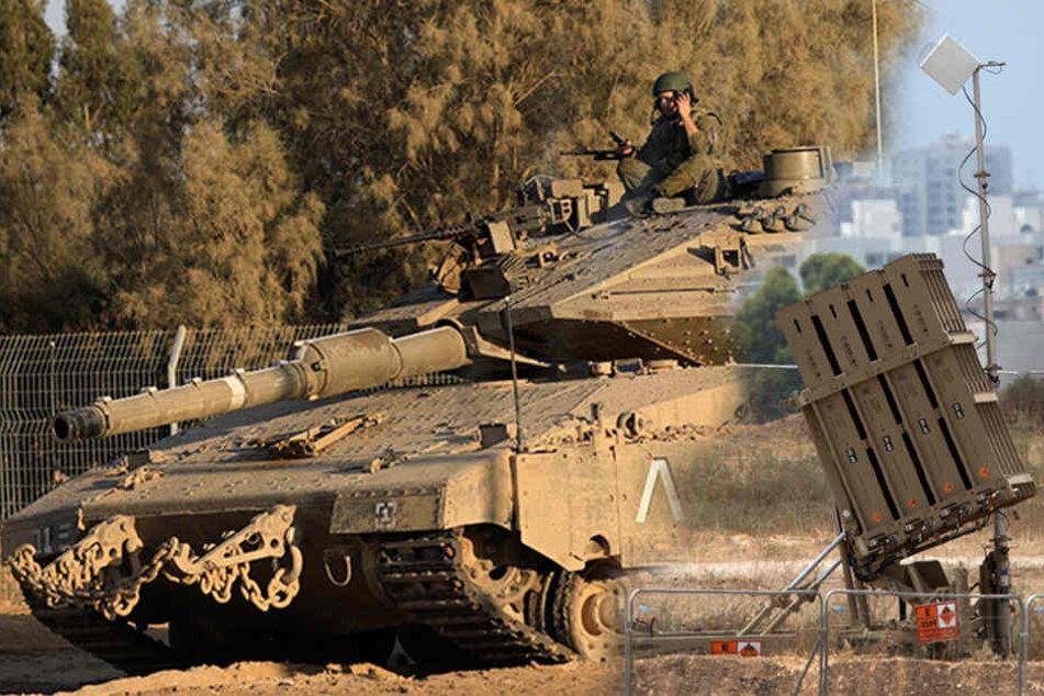Nach Drohungen aus Gaza: Israel stellt Raketen-Abwehrsystem auf