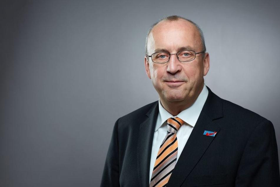 """Der AfD-Kreisvorsitzende Frank Forberg (61) fürchtet ein """"Fass ohne Boden""""."""