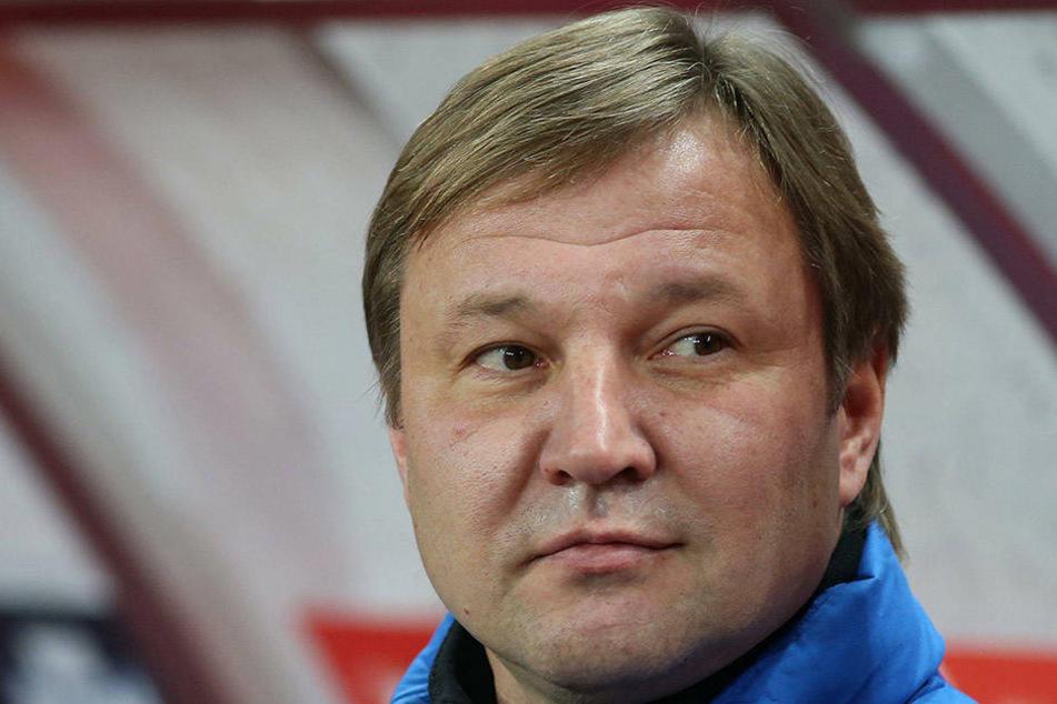 Über ihn kam der Kontakt nach Aue zustande: Yuri Kalitvintsev ist der Vater des Auer Neuzugangs. Er trainiert Dinamo Moskau.