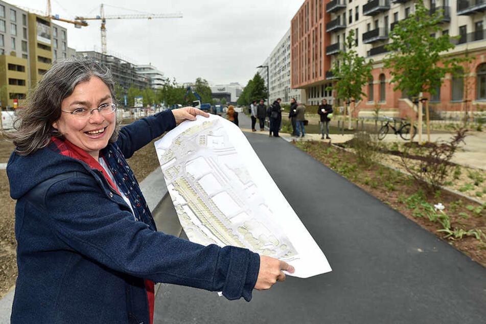 Umweltbürgermeisterin Eva Jähnigen (53, Grüne) freut sich aufs baldige Flanieren.