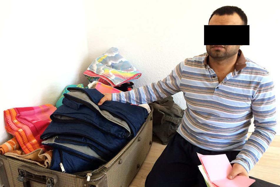 """Das ist der Verdächtige Almohamad A. (32). Er sagt: """"Ich habe mit dem IS nichts zu tun."""""""