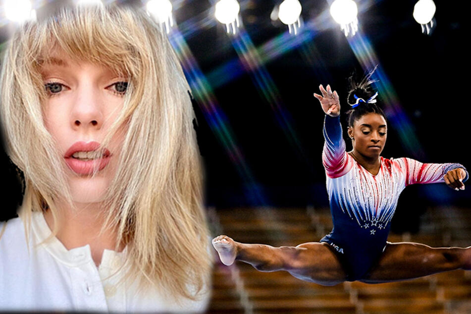 Taylor Swift and Simone Biles have heartfelt exchange over Olympic videos