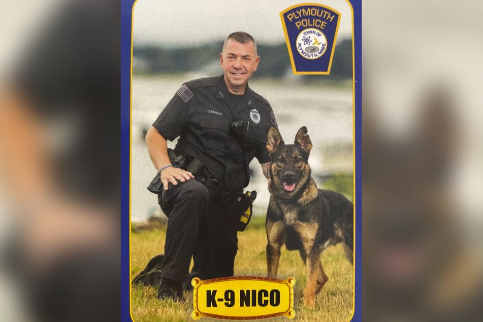 Officer Keith Larson und sein Partner Nico arbeiteten seit mehr als einem Jahr zusammen.