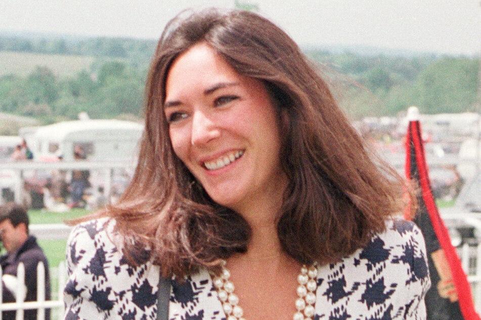 Ghislaine Maxwell (58), die Ex-Partnerin von Jeffrey Epstein (†66), im Juni 1991 bei der Ankunft an der Rennbahn im britischen Epsom.