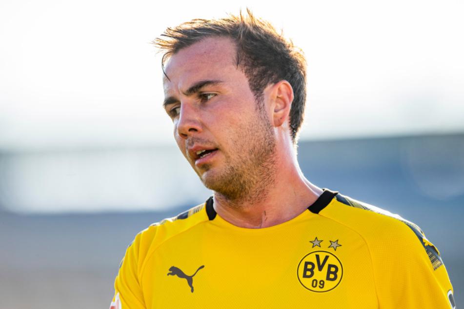 Mario Götze (27) steht beim BVB vor dem Absprung.