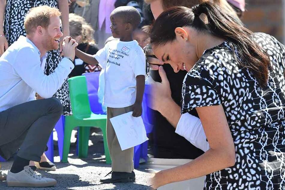 Baby Archies erste große Reise: Prinz Harry und Herzogin Meghan sind in Afrika