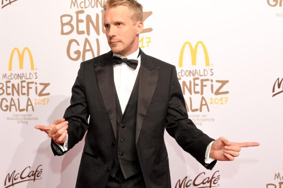 Comedian Oliver Pocher (41) bei der Benefizgala zugunsten der McDonald's Kinderhilfe.