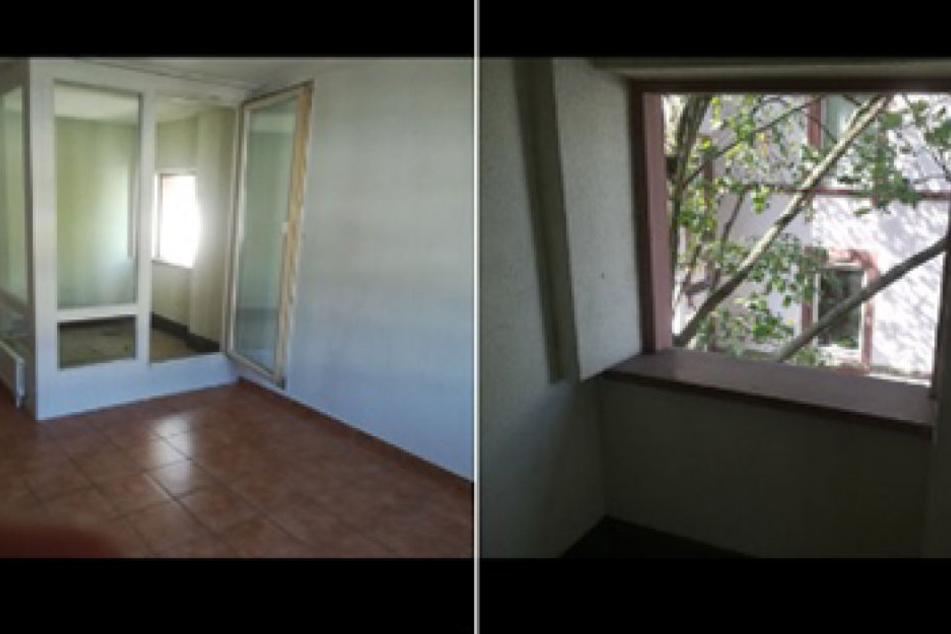 """Eine Wohnung mit einem """"Innen-Balkon"""". Wie ksoll man da widerstehen?"""