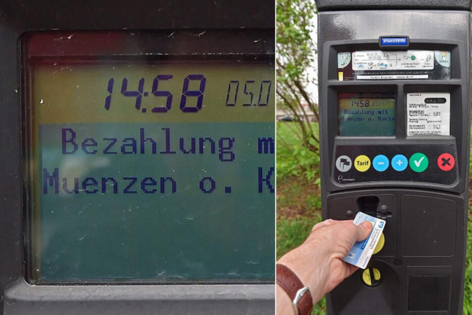 Damit die neuen Gebühren gezahlt werden können, rüstet die Stadt mit neuen Automaten und Lesegeräten an den alten Automaten auf.