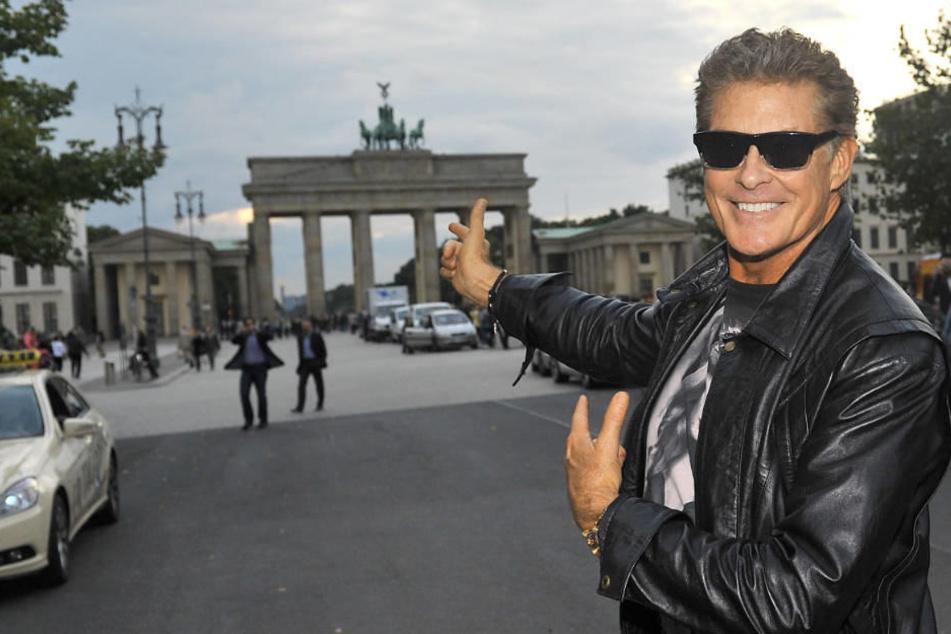 David Hasselhoff ist wieder in Berlin.