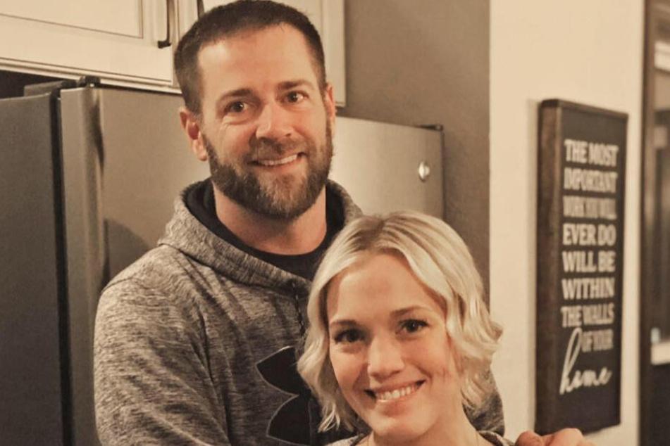 Samantha und ihr Mann Chad.