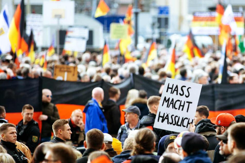 Bei Pegida am Montag: CDU und FDP machen gegen Björn Höcke mobil