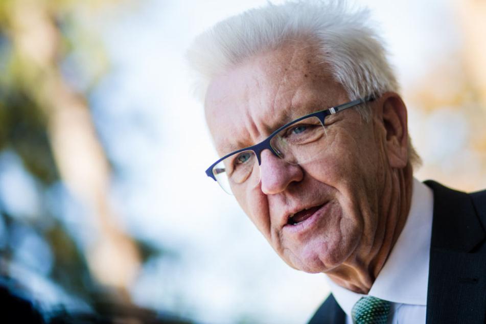 Winfried Kretschmann sieht das größte Versäumnis der Berliner GroKo beim Klimaschutz.