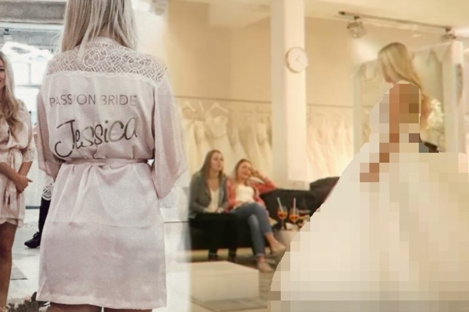 Ein Traum aus Tüll: Zeigt Ex-Bachelor-Kandidatin Jessi hier ihr Hochzeitskleid?