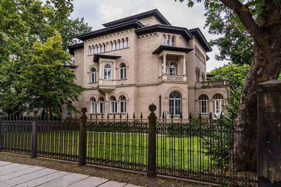 Die Leipziger Villa Tillmanns direkt neben dem Bundesverwaltungsgericht - Justizminister Sebastian Gemkow bietet sie dem BGH als Sitz für den neuen Senat an.