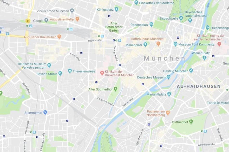 In München trat ein Ladendieb zu Fuß die Flucht an. Diese endete jedoch bereits nach wenigen Metern.