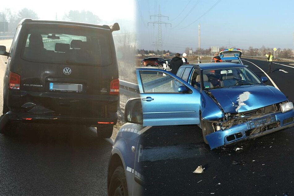 Polo kracht in Radebeul in anderen VW: Frau verletzt