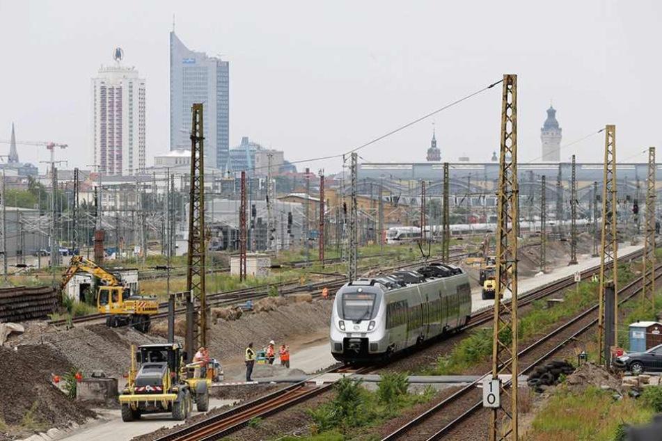 Rund um den Hauptbahnhof werden die Gleisanlagen bis 2020 erneuert.