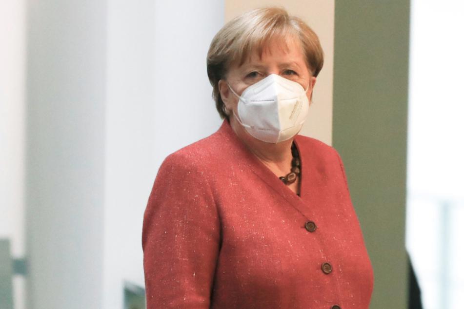 Kanzlerin Angela Merkel (66, CDU) am Mittwoch.