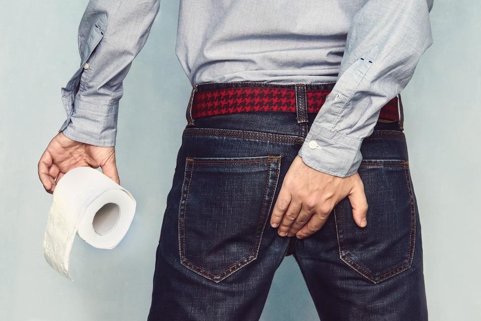 Schlechte Analhygiene: Vielen Männern geht das am Arsch vorbei