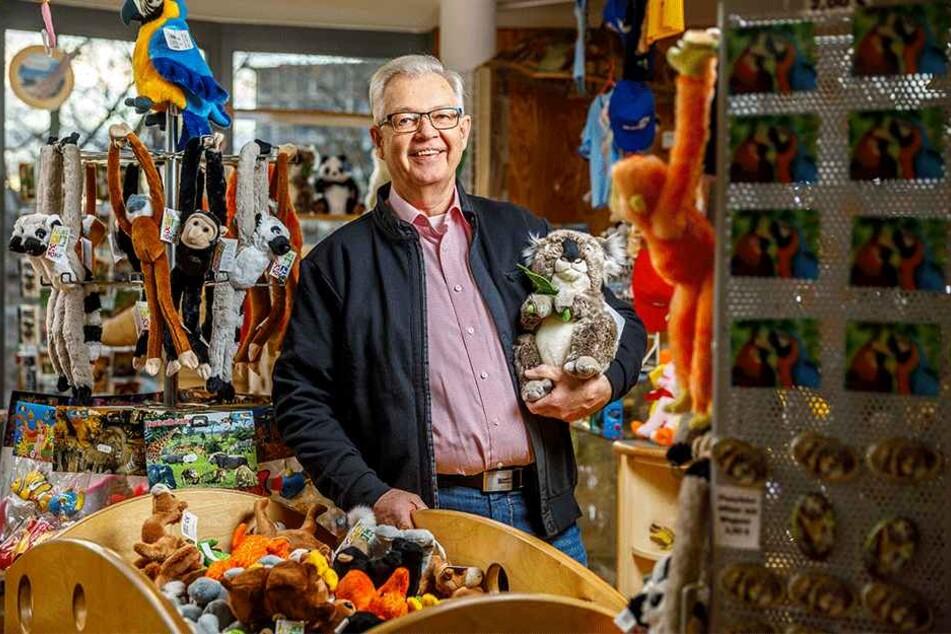 Roland Hofmann (66) war 19 Jahre lang der Mann hinter der Ladentheke im Zoo-Shop.