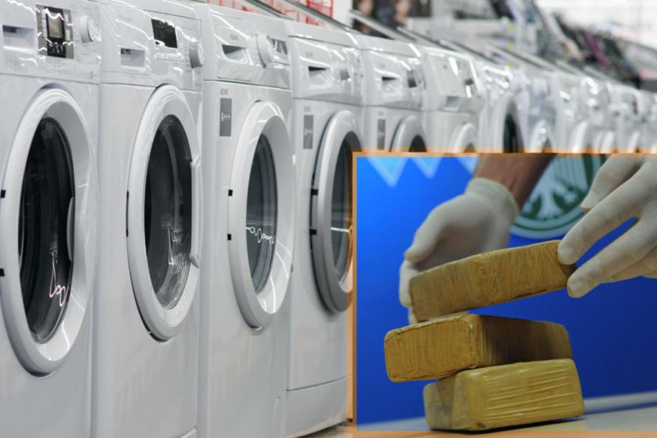 Der 22-jährige Mann nutzte seine Waschmaschine als Drogen-Lager (Symbolbild).
