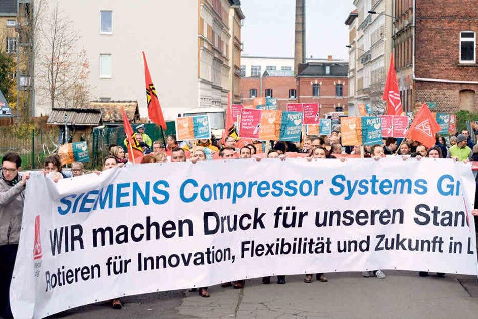 Leipziger Siemens-Werker planen ihre Zukunft selbst