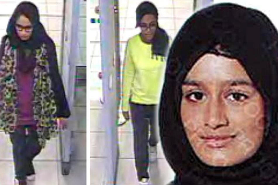Sie schloss sich mit 15 dem IS an: Baby von Terror-Braut gestorben