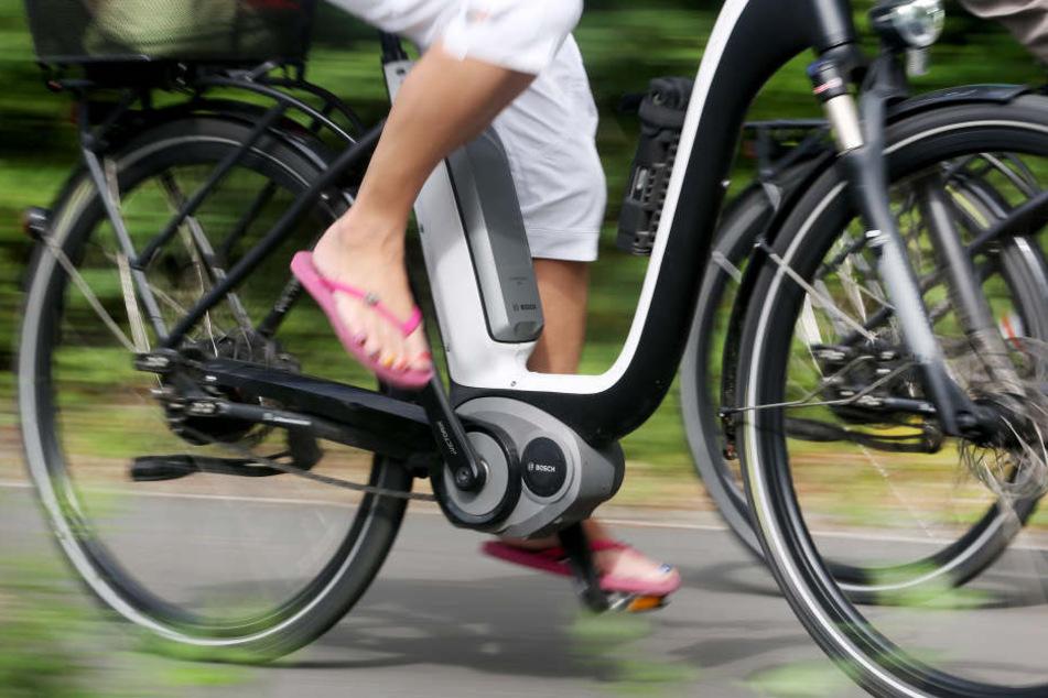 Die Ermittler vermute, dass die Frau zu schnell auf ihrem E-Bike unterwegs war. (Symbolbild)