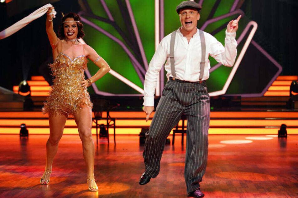 In der dritten Show am vergangenen Freitag erreichten Christina Luft und Oliver Pocher mit ihrem Charleston ihre bisherige Bestwertung von 20 Punkten.