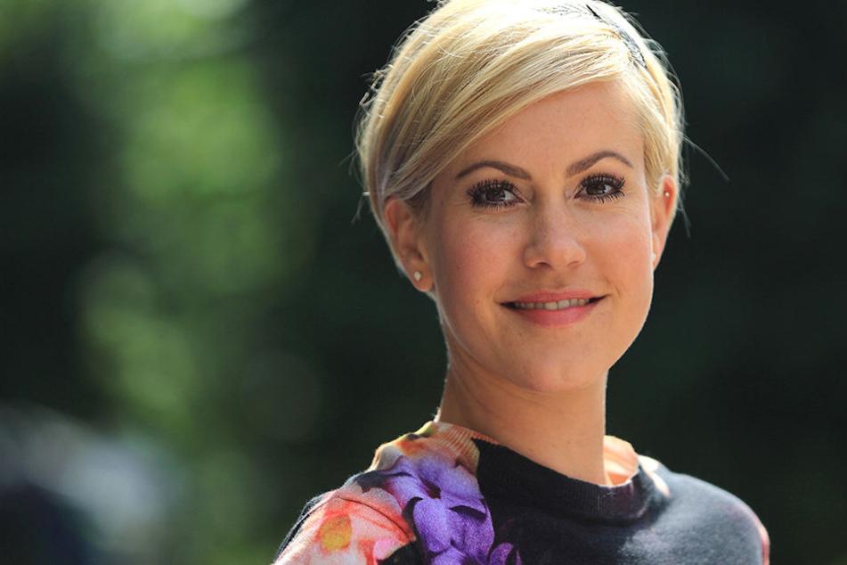 "Wolke Hegenbarth (37) beendet die Serie ""Alles Klara"" in der ARD."