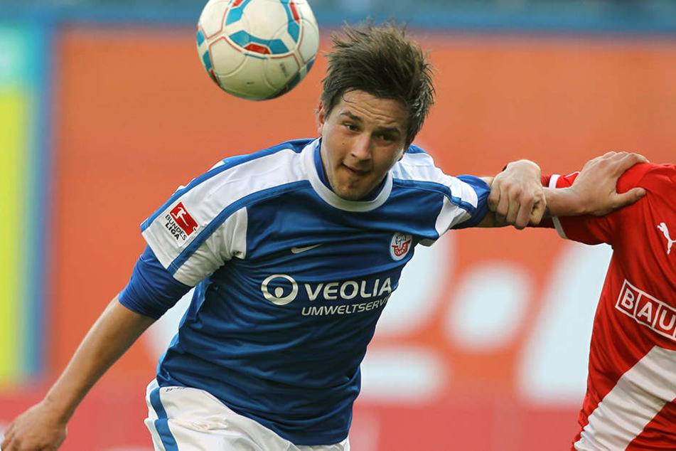 Kevin Pannewitz (25) spielte früher unter anderem für Hansa Rostock.