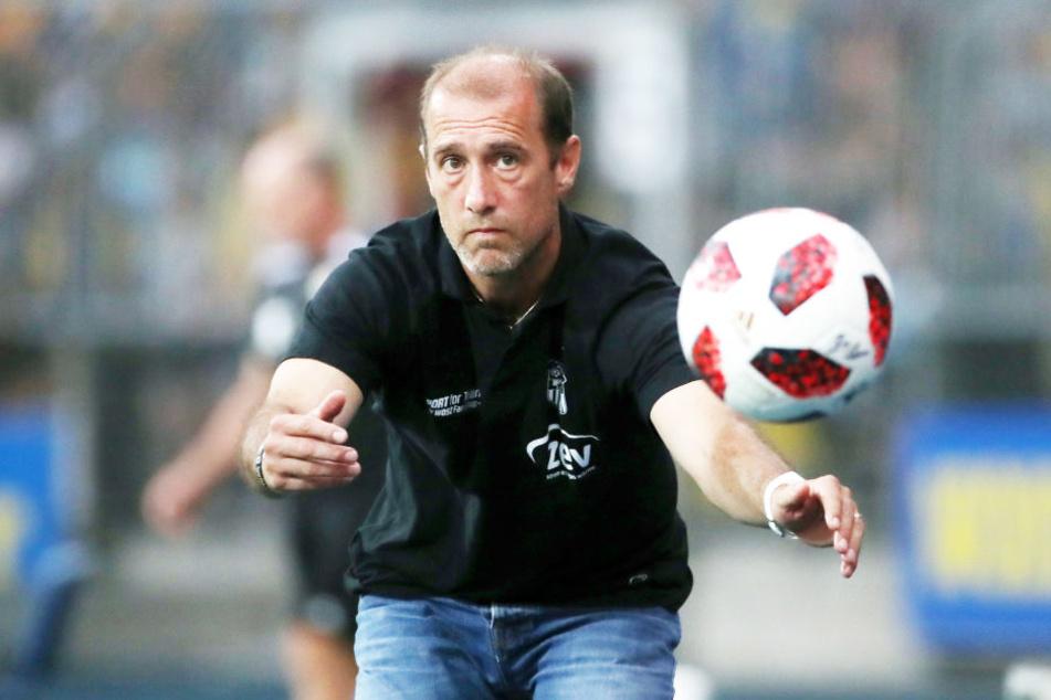 Taktikfuchs Joe Enochs brachte den FSV auf die Siegerstraße.