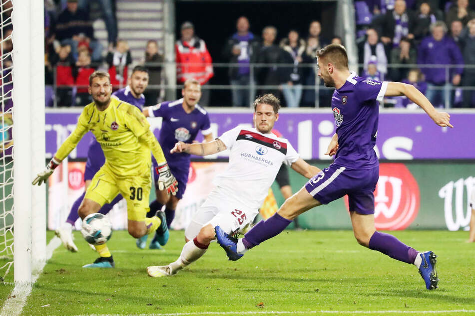 Der Treffer zum 3:2 gegen Nürnberg sollte der einzige für Marko Mihojevic im Auer Trikot bleiben. Immens wichtig war er allemal.