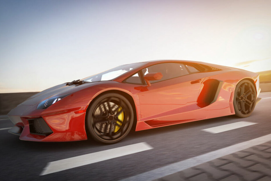 Lieferten sich zwei Lamborghini-Fahrer ein Autorennen? (Symbolbild)